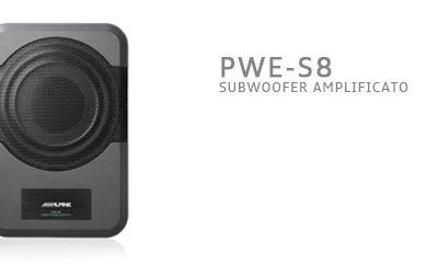PWE-S8, SubWoofer compatto e potente