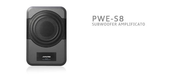 subwoofer alpine pwe-s8