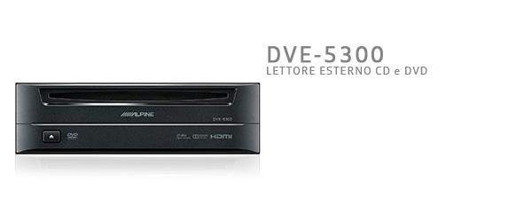 lettore cd e dvd esterno alpine DVE-5300