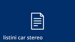Listini Car Audio Alpine