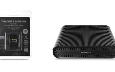 Nuovi accessori Thinkware: SD da 128GB e Batteria esterna.