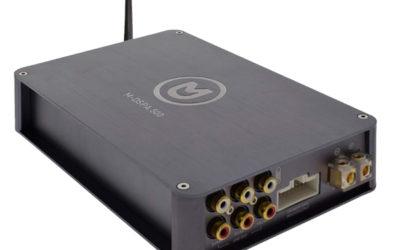 Macrom M-DSPA.500, amplificatore con DSP e Bluetooth.