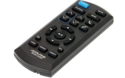 Alpine RUE-4360, un nuovo telecomando.