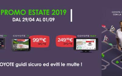 Promozione COYOTE Estate 2019