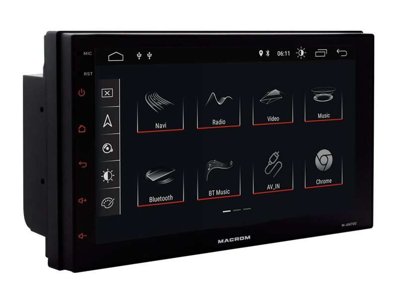 """Macrom M-AN-700 2 din android da 7"""""""