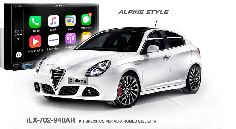 iLX-702-940AR, Kit per Alfa Romeo Giulietta