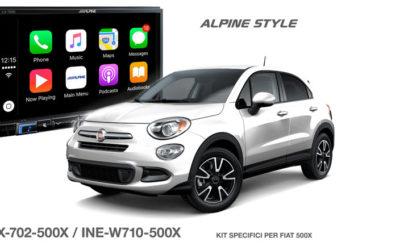 iLX-702D-500X e INE-W710D-500X dedicati FIAT 500X
