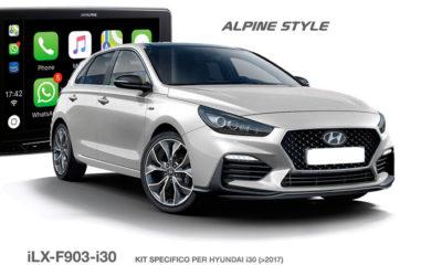 iLX-F903-i30, il nuovo Kit specifico per Hyundai i30