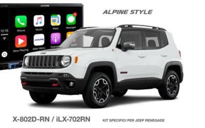 X802D-RN, il KIT per Jeep Renegade