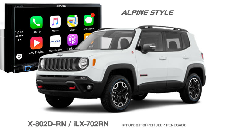 banner carbycar alpine per jeep renegade
