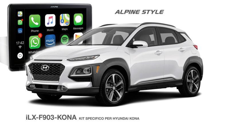 iLX-F903-KONA, il kit per Hyundai KONA