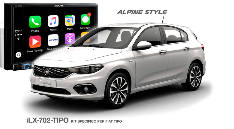 immagine ilx-702-tipo kit specifico per fiat tipo
