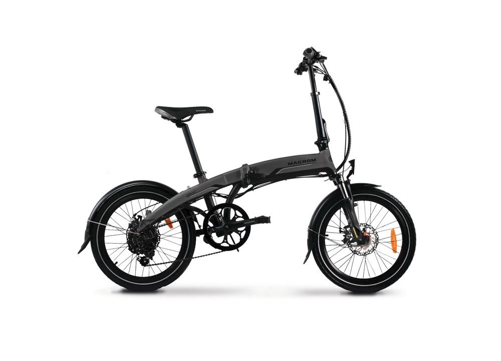 immagine e-bike macrom modello MILANO
