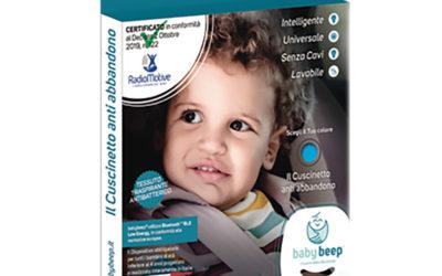 BabyBeep, cuscino antiabbandono