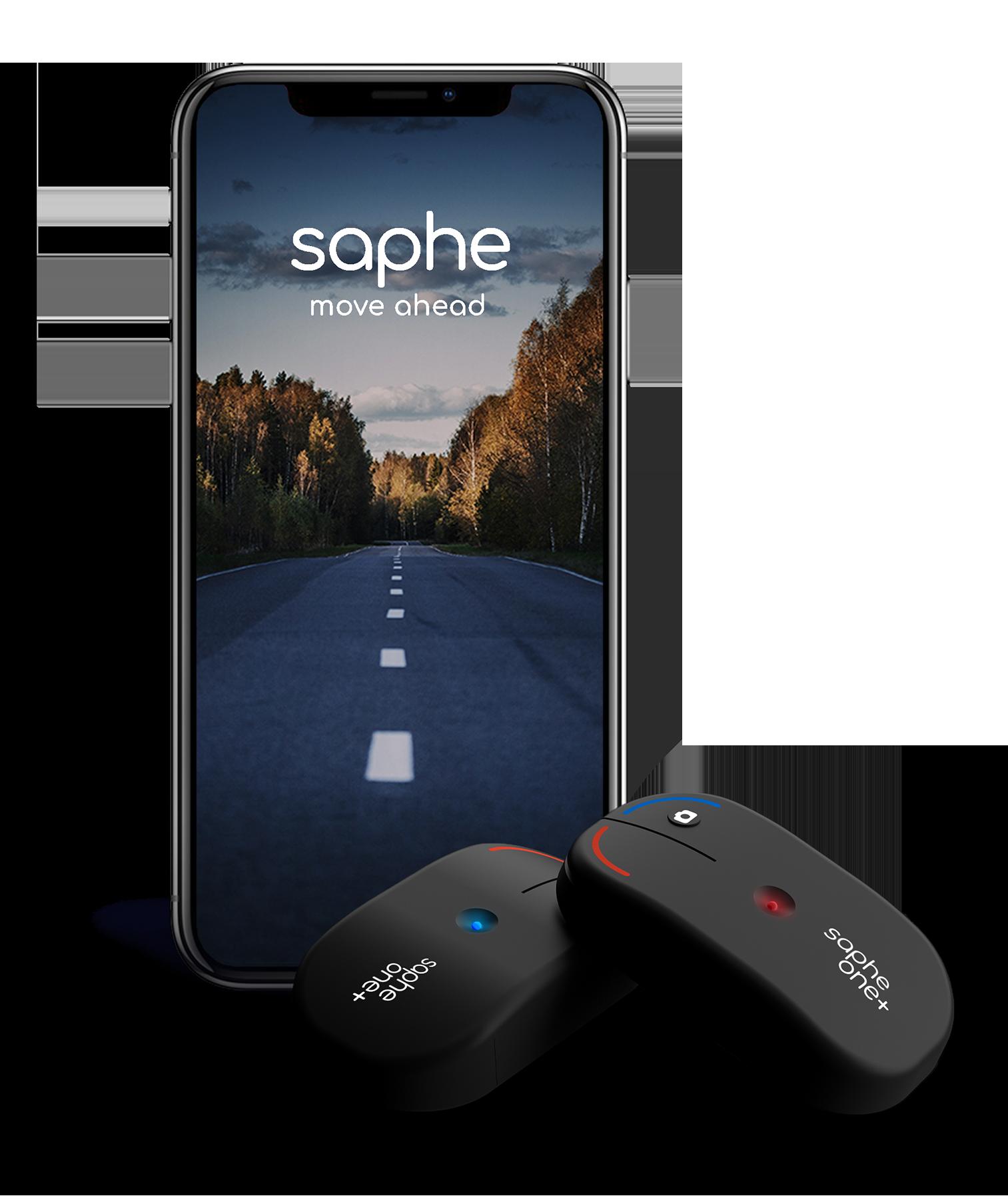immagine app per iphone saphe assieme a saphe one+